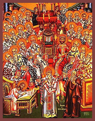 Fathers of the 1st Ecumenical Council